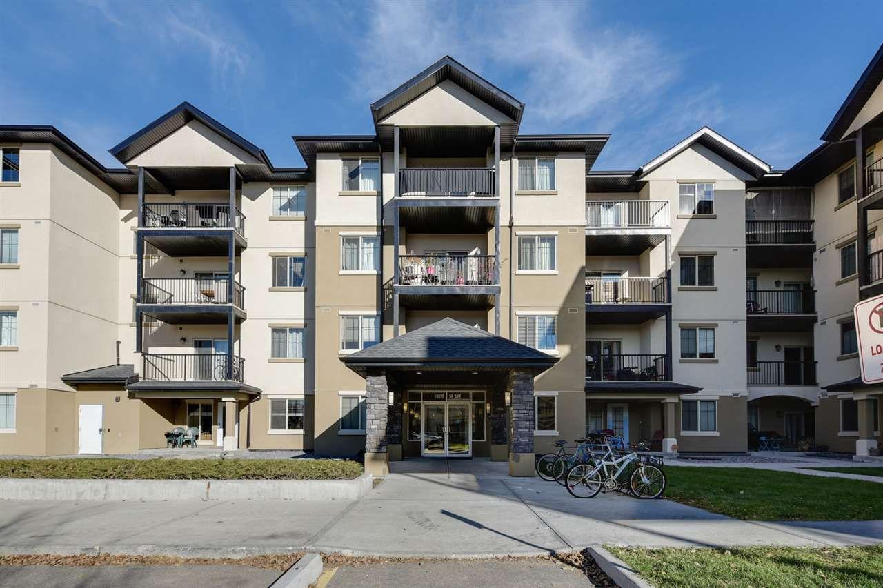 Main Photo: 107 10520 56 Avenue in Edmonton: Zone 15 Condo for sale : MLS®# E4133170