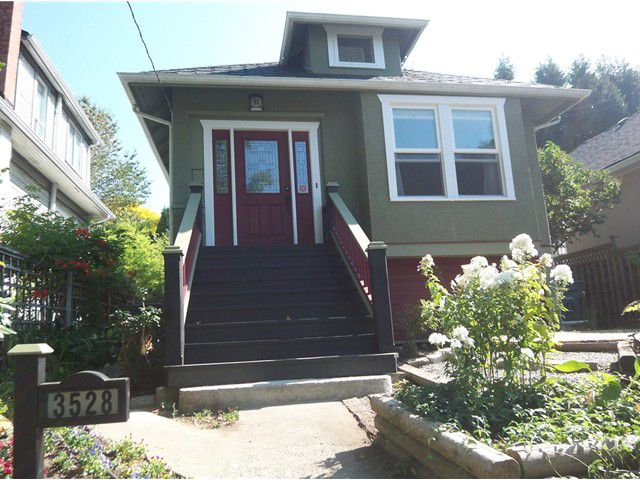 Main Photo: 3528 FLEMING Street in Vancouver: Knight House for sale (Vancouver East)  : MLS®# V913382
