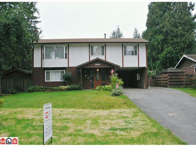 """Main Photo: 20508 42A Avenue in Langley: Brookswood Langley House for sale in """"BROOKSWOOD"""" : MLS®# F1124582"""