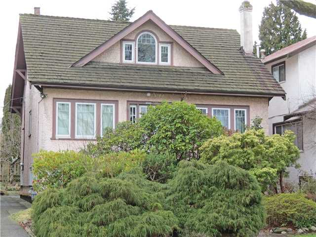 Main Photo: 2066 PARKER ST in Vancouver: Grandview VE House for sale (Vancouver East)  : MLS®# V1049152
