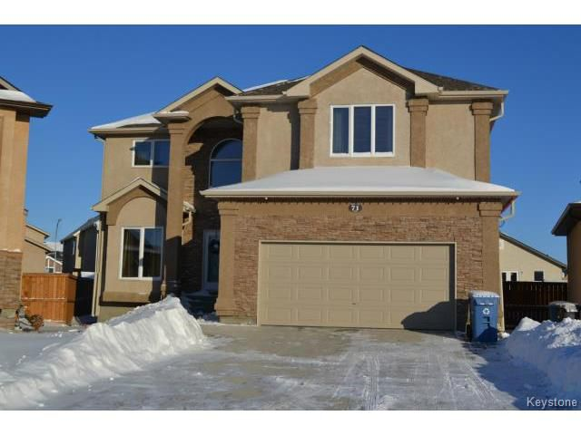 Main Photo: 71 Mike Ruta Court in WINNIPEG: West Kildonan / Garden City Residential for sale (North West Winnipeg)  : MLS®# 1500217