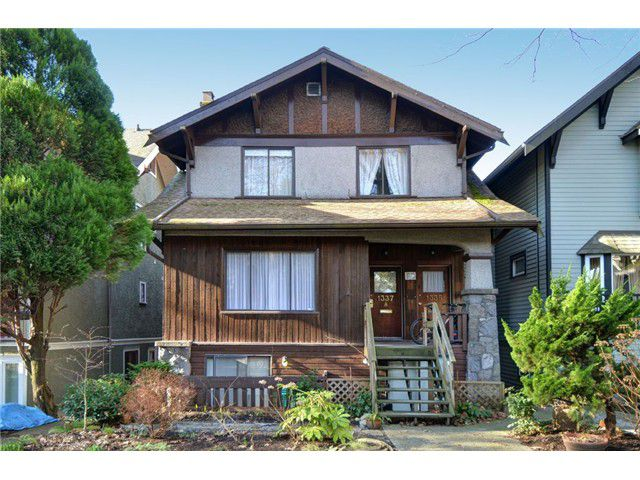 "Main Photo: 1335 - 1337 WALNUT Street in Vancouver: Kitsilano House for sale in ""Kits Point"" (Vancouver West)  : MLS®# V1103862"