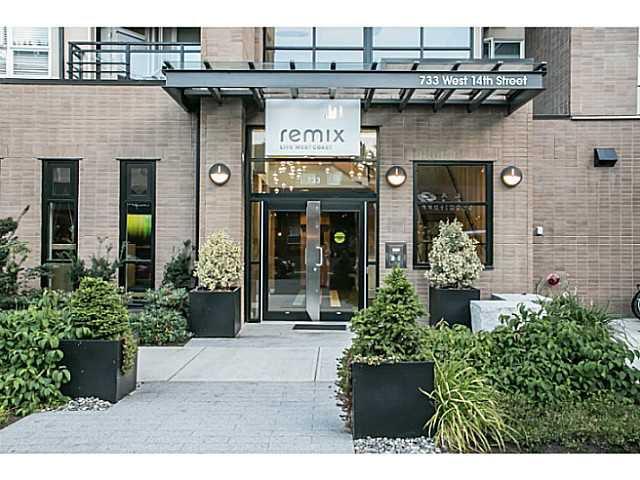 Main Photo: 305 733 W 14TH Street in North Vancouver: Hamilton Condo for sale : MLS®# V1139877