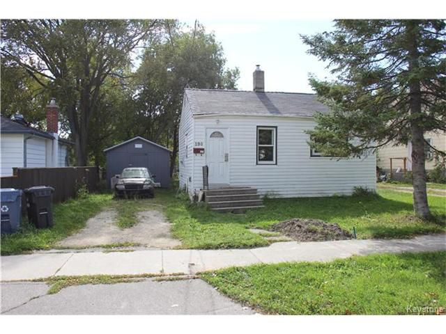 Main Photo: 190 Hindley Avenue in Winnipeg: Residential for sale (2D)  : MLS®# 1700383