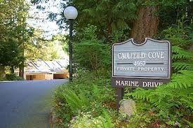 Welcome to Caulfeild Cove