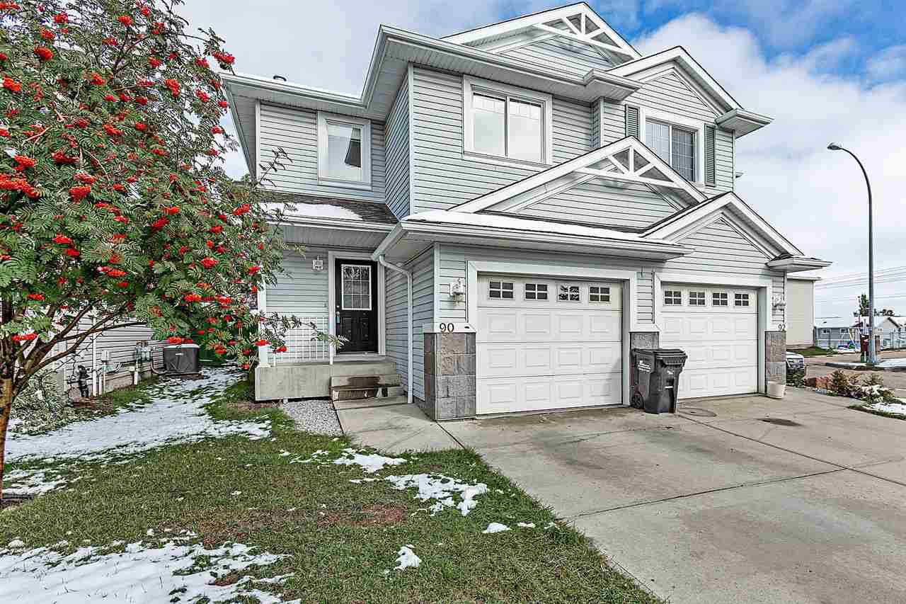 Main Photo: 90 115 CHESTERMERE Drive: Sherwood Park House Half Duplex for sale : MLS®# E4130511