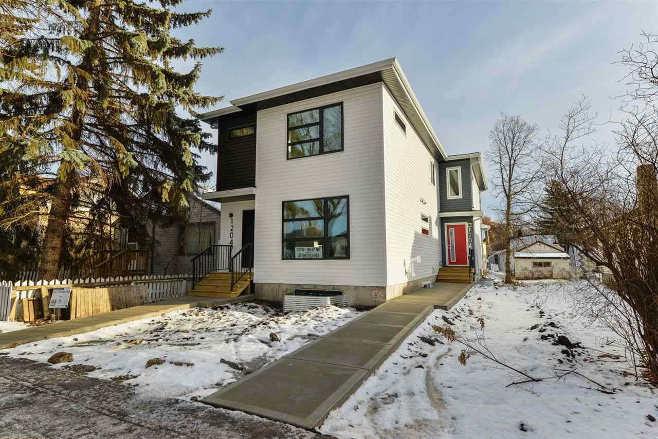 Main Photo: 12045 95 Street in Edmonton: Zone 05 House Half Duplex for sale : MLS®# E4136379