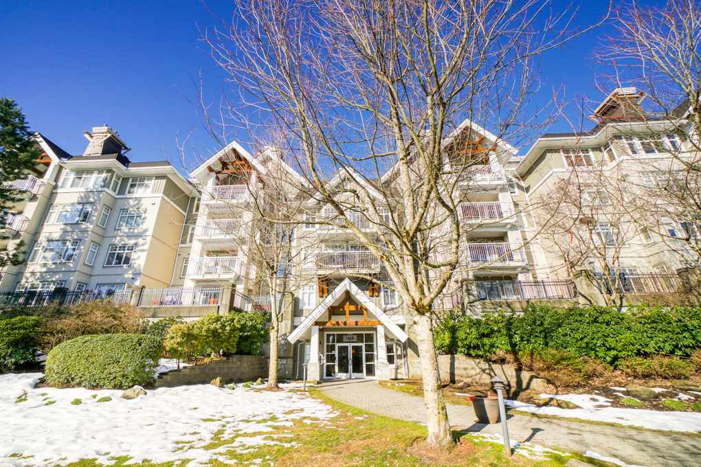 Main Photo: 102 1438 PARKWAY Boulevard in Coquitlam: Westwood Plateau Condo for sale : MLS®# R2342793