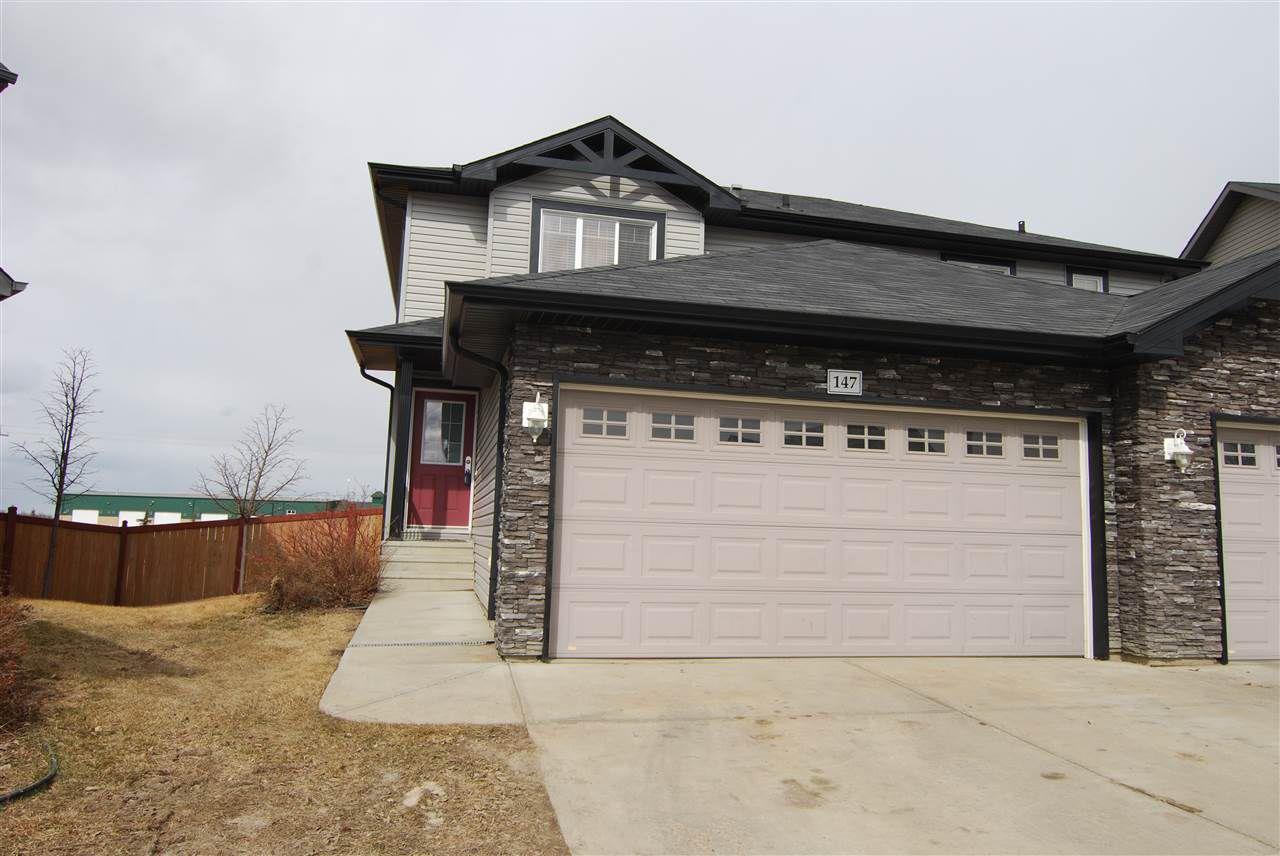 Main Photo: 147 RUE MONIQUE: Beaumont House Half Duplex for sale : MLS®# E4150006