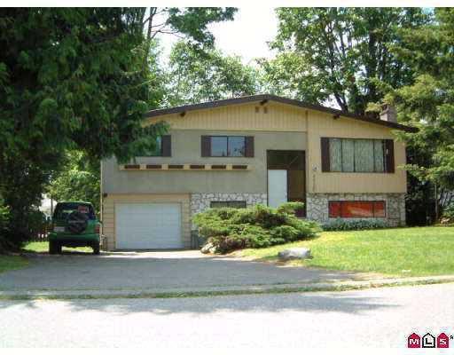 Main Photo: 13120 99TH AV in Surrey: Cedar Hills House for sale (North Surrey)  : MLS®# F2521008