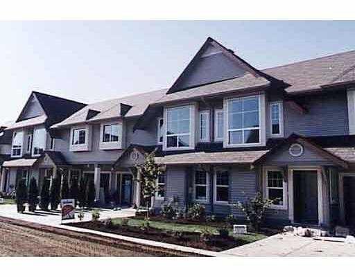 """Main Photo: 20 23085 118TH AV in Maple Ridge: East Central Townhouse for sale in """"SOMMERVILLE GARDEN"""" : MLS®# V586701"""