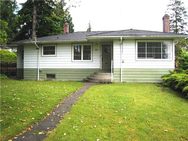 Main Photo: 907 SECOND Street in New Westminster: GlenBrooke North House for sale : MLS®# V1071348