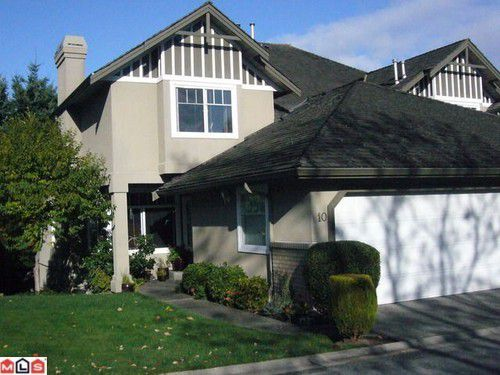 Main Photo: 10 15151 26TH Ave in South Surrey White Rock: Home for sale : MLS®# F1027254