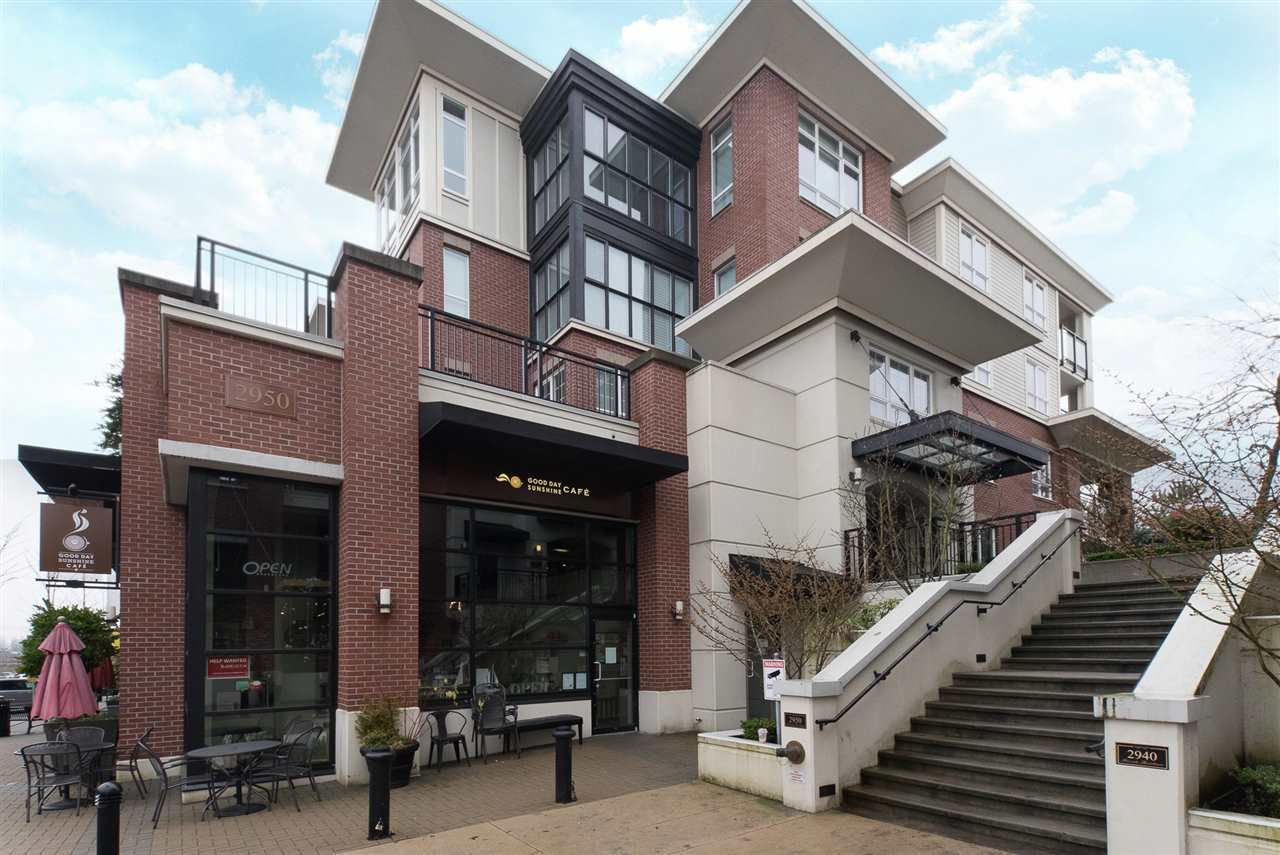 """Main Photo: 314 2950 KING GEORGE Boulevard in Surrey: King George Corridor Condo for sale in """"HIGH STREET"""" (South Surrey White Rock)  : MLS®# R2231008"""