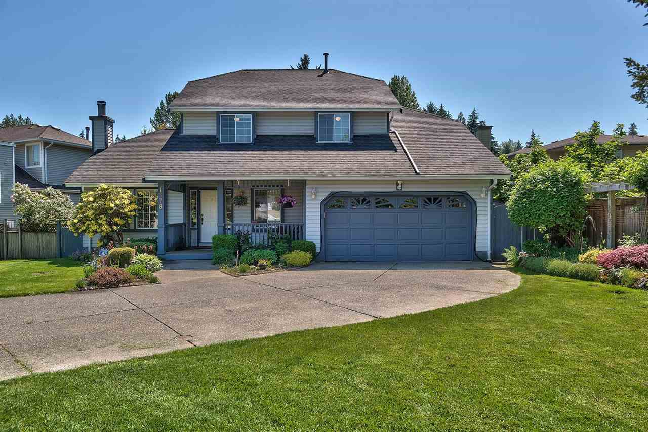 """Main Photo: 1378 LINCOLN Drive in Port Coquitlam: Oxford Heights House for sale in """"HYDE CREEK ESTATES"""" : MLS®# R2269610"""