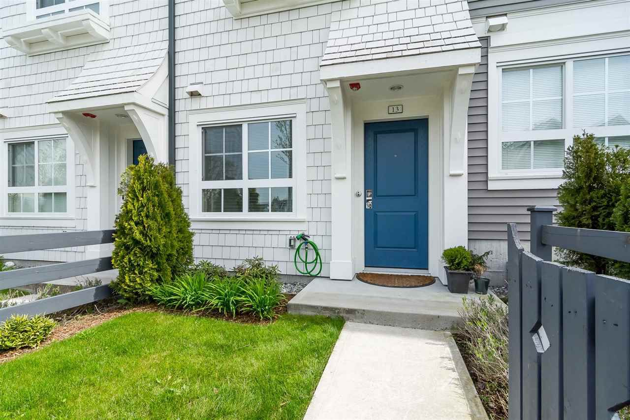 "Main Photo: 13 8476 207A Street in Langley: Willoughby Heights Townhouse for sale in ""YORK By Mosaic"" : MLS®# R2272290"