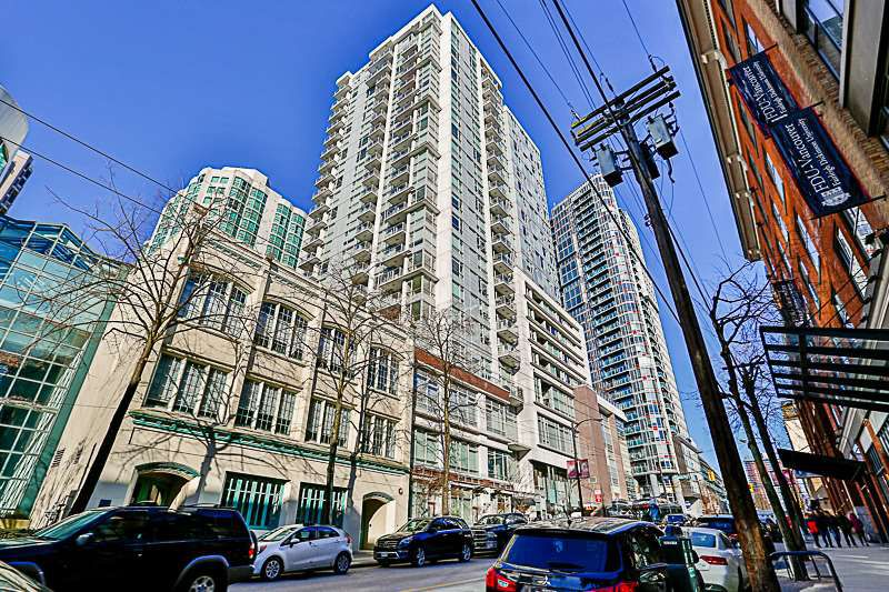 Main Photo: 1507 821 CAMBIE STREET in : Downtown VW Condo for sale (Vancouver West)  : MLS®# R2136221
