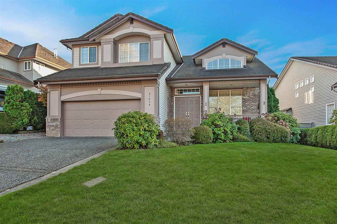 """Main Photo: 21036 86A Avenue in Langley: Walnut Grove House for sale in """"Manor Park"""" : MLS®# R2336504"""