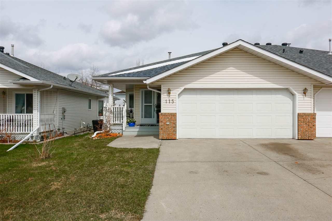 Main Photo: 115 LAKESIDE Place: Leduc House Half Duplex for sale : MLS®# E4155180