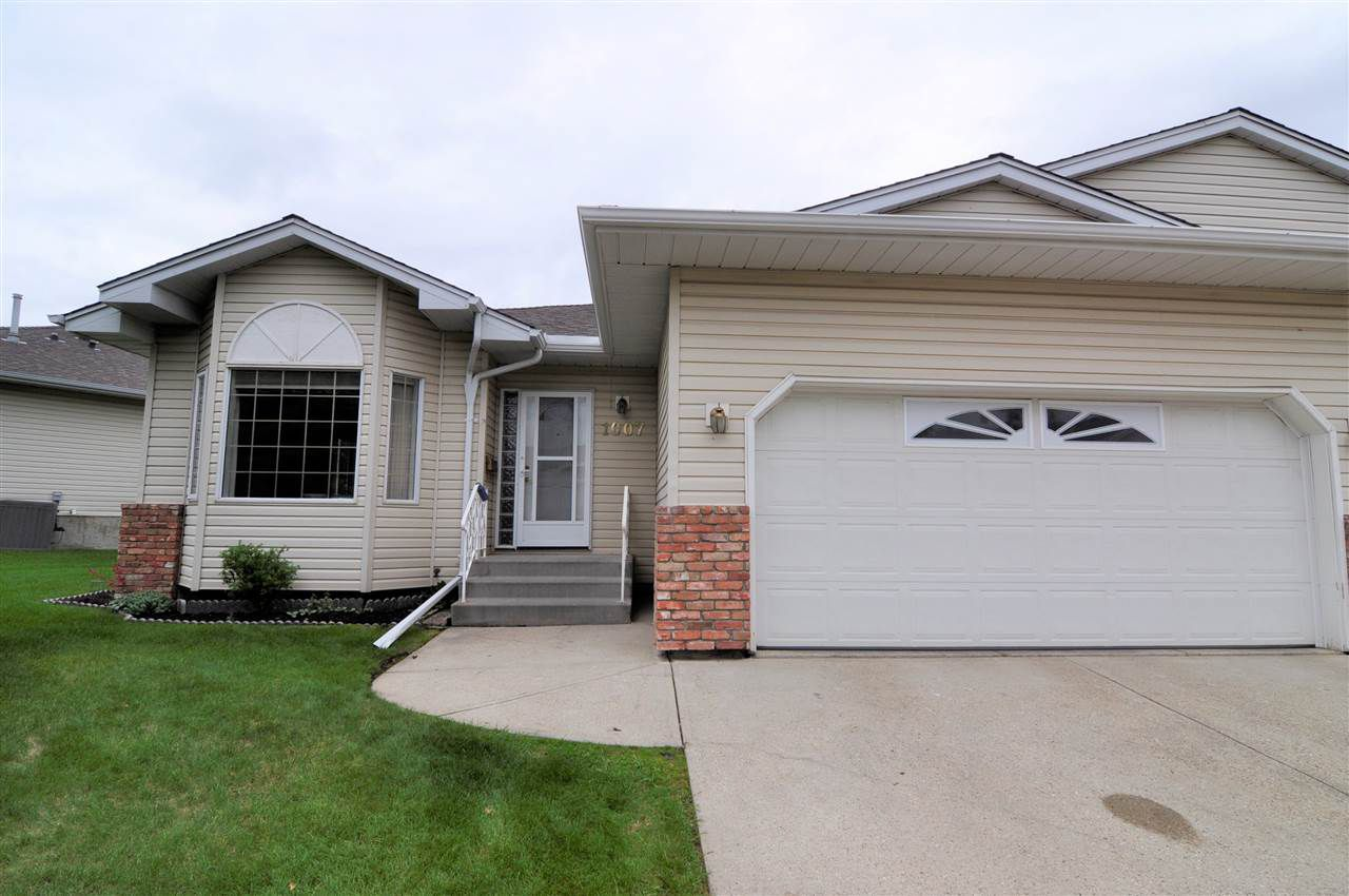 Main Photo: 1007 YOUVILLE Drive W in Edmonton: Zone 29 House Half Duplex for sale : MLS®# E4162817
