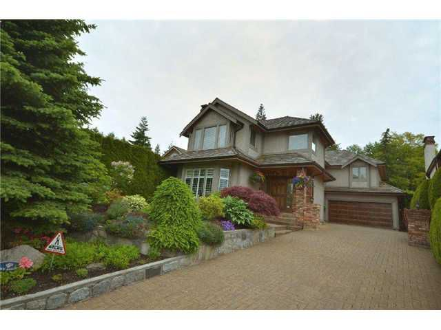 Main Photo: 5330 MONTE BRE in West Vancouver: Upper Caulfeild House for sale : MLS®# V895869