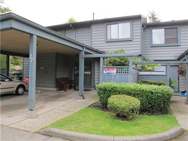 Main Photo: 27 1170 LANSDOWNE Drive in Coquitlam: Eagle Ridge CQ Townhouse for sale : MLS®# V920533