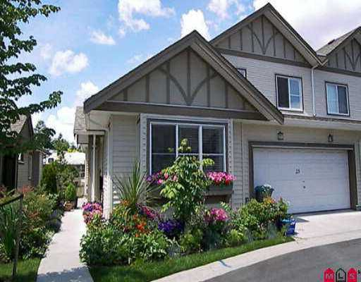 """Main Photo: 23 15868 85TH AV in Surrey: Fleetwood Tynehead Townhouse for sale in """"Chimney Heights"""" : MLS®# F2613803"""