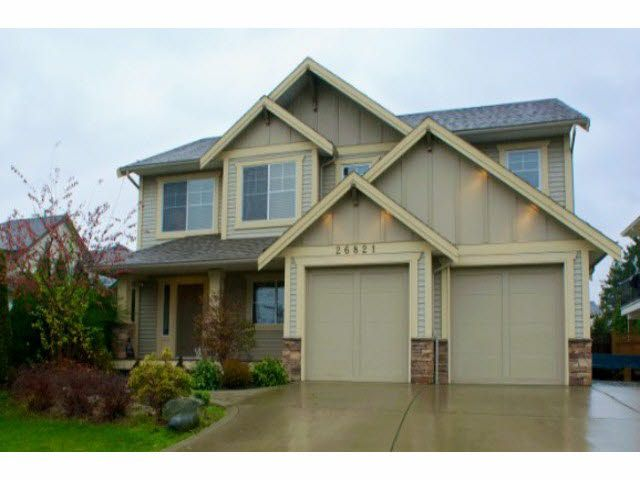 Main Photo: 26821 26A AVENUE in : Aldergrove Langley House for sale : MLS®# F1300524