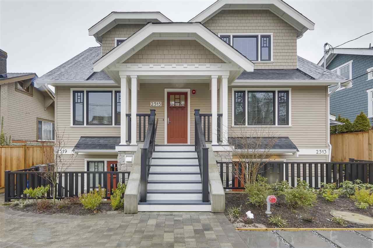 Main Photo: 2515 W 8TH AVENUE in Vancouver: Kitsilano House 1/2 Duplex for sale (Vancouver West)  : MLS®# R2229910