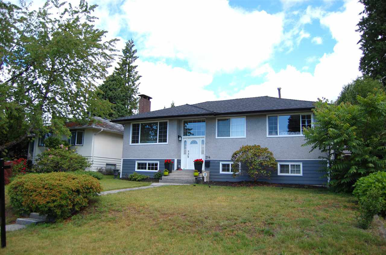 Main Photo: 214 E 26TH Street in North Vancouver: Upper Lonsdale House for sale : MLS®# R2278779