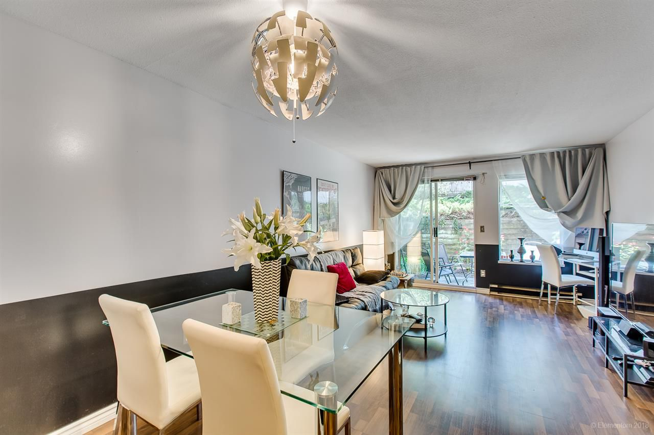 """Main Photo: 214 450 BROMLEY Street in Coquitlam: Coquitlam East Condo for sale in """"Bromley Manor"""" : MLS®# R2292602"""