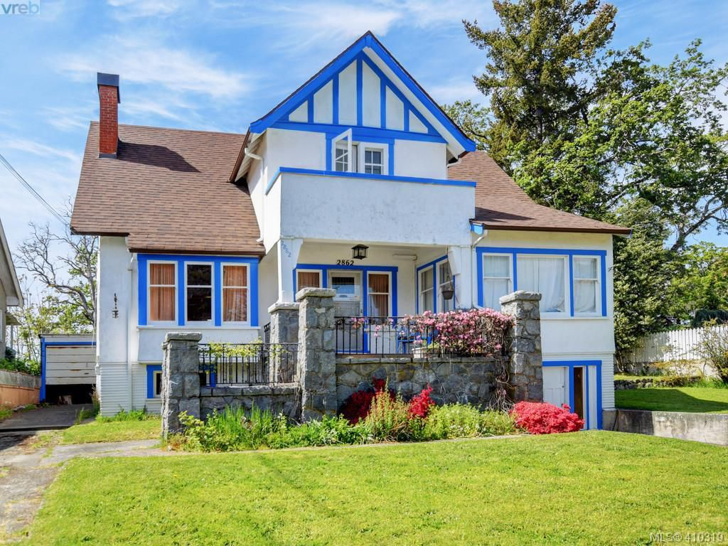 Main Photo: 2862 Parkview Drive in VICTORIA: SW Gorge Single Family Detached for sale (Saanich West)  : MLS®# 410319