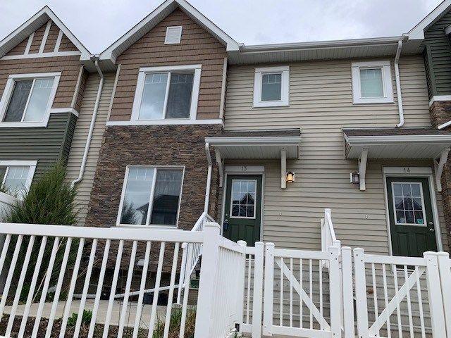 Main Photo: 13 3625 144 Avenue in Edmonton: Zone 35 Townhouse for sale : MLS®# E4156073