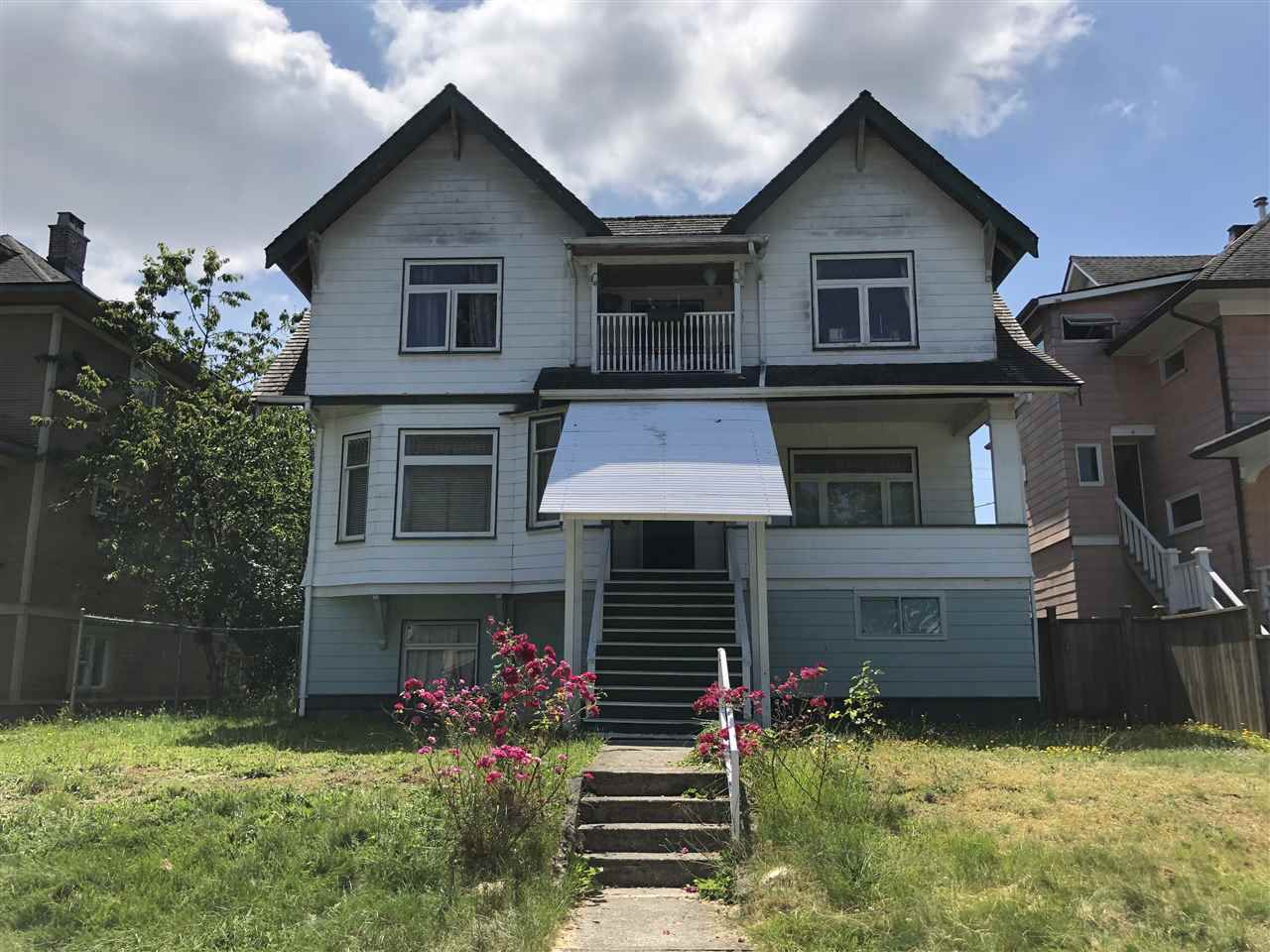 Main Photo: 946 W 14TH Avenue in Vancouver: Fairview VW House for sale (Vancouver West)  : MLS®# R2381189