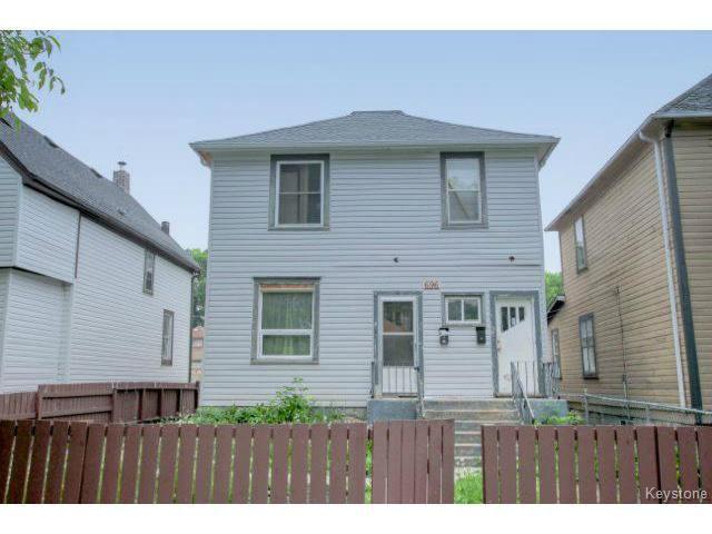 Main Photo: 696 Simcoe Street in WINNIPEG: West End / Wolseley Residential for sale (West Winnipeg)  : MLS®# 1516022