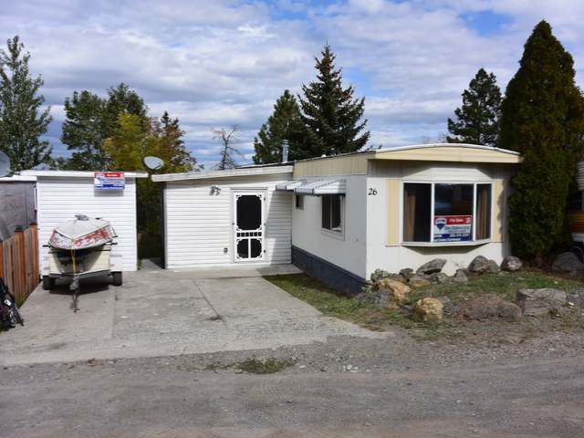 Main Photo: 26 1680 LAC LE JEUNE ROAD in : Knutsford-Lac Le Jeune Mobile for sale (Kamloops)  : MLS®# 130951