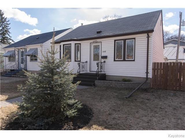 Main Photo: 140 Aubrey Street in Winnipeg: West End / Wolseley Residential for sale (West Winnipeg)  : MLS®# 1608340