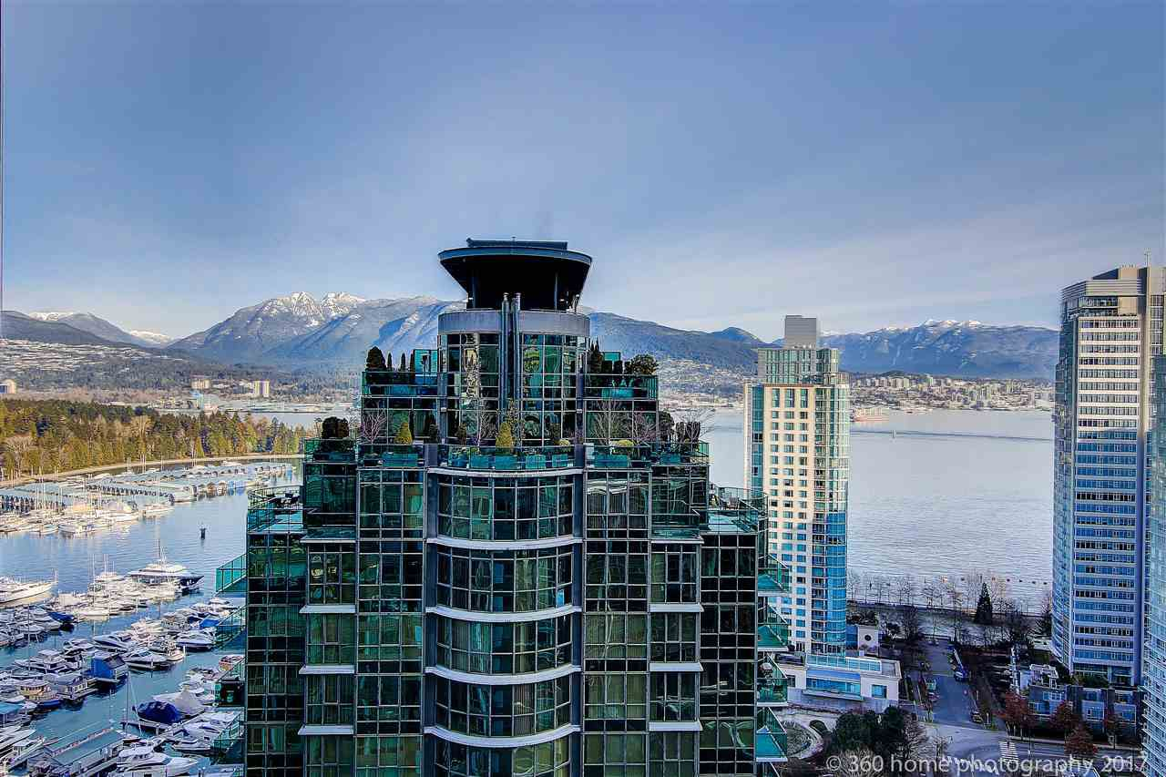 """Main Photo: 3007 1328 W PENDER Street in Vancouver: Coal Harbour Condo for sale in """"CLASSICO"""" (Vancouver West)  : MLS®# R2129474"""