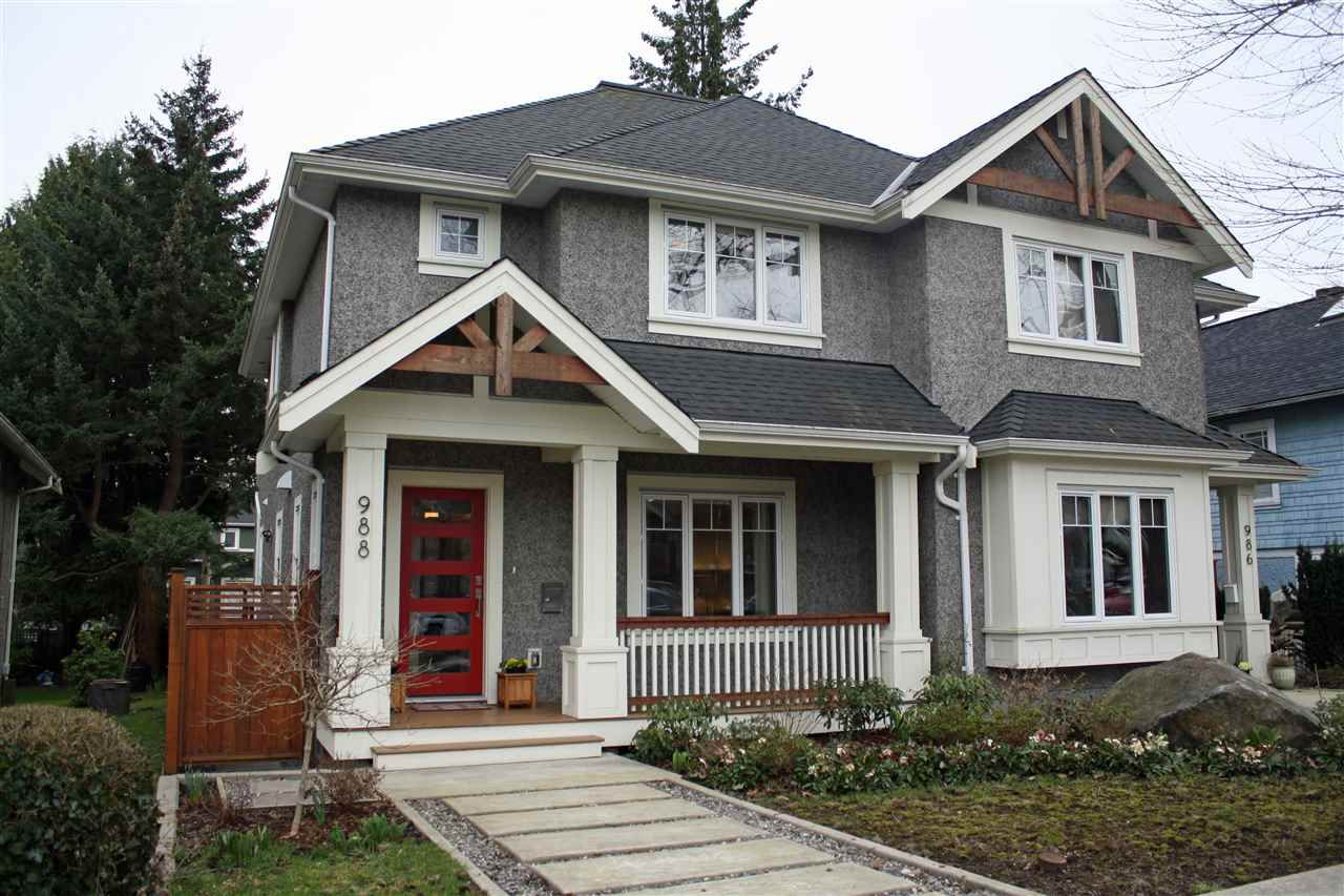 Main Photo: 988 E 20TH Avenue in Vancouver: Fraser VE House 1/2 Duplex for sale (Vancouver East)  : MLS®# R2152467