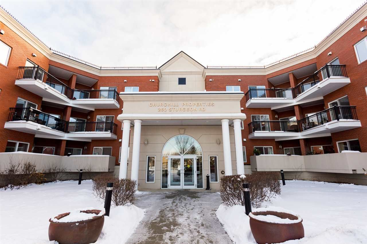 Main Photo: 210 260 STURGEON Road: St. Albert Condo for sale : MLS®# E4137828