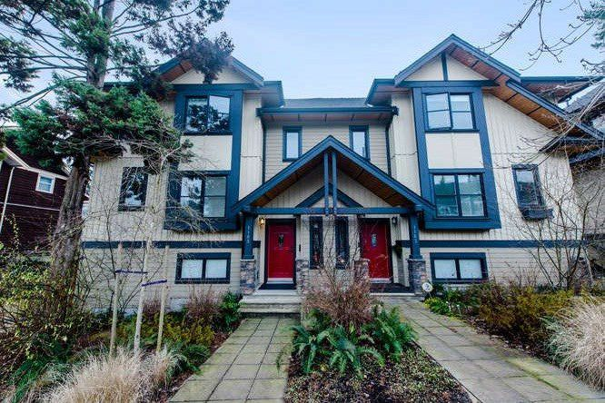 Main Photo: 1165 HAROLD Road in North Vancouver: Lynn Valley Townhouse for sale : MLS®# R2040054