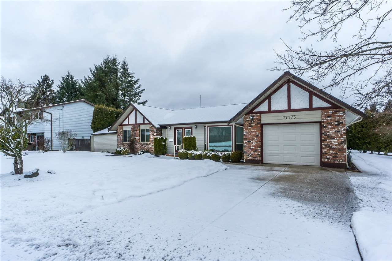 Main Photo: 27175 34 Avenue in Langley: Aldergrove Langley House for sale : MLS®# R2343088