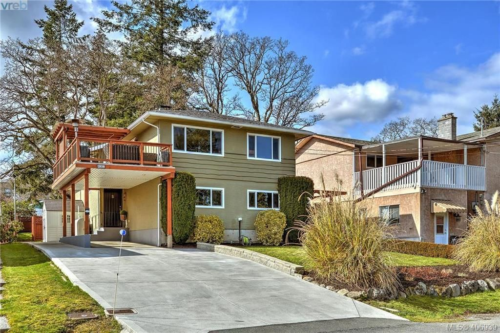 Main Photo: 4080 Tracey Street in VICTORIA: SE Lake Hill Single Family Detached for sale (Saanich East)  : MLS®# 406939
