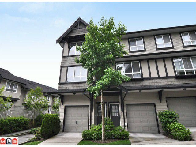 "Main Photo: 105 6747 203RD Street in Langley: Willoughby Heights Townhouse for sale in ""SAGEBROOK"" : MLS®# F1116766"