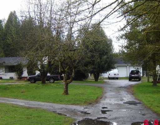 Main Photo: 25533 84TH AV in Langley: County Line Glen Valley House for sale : MLS®# F2605016