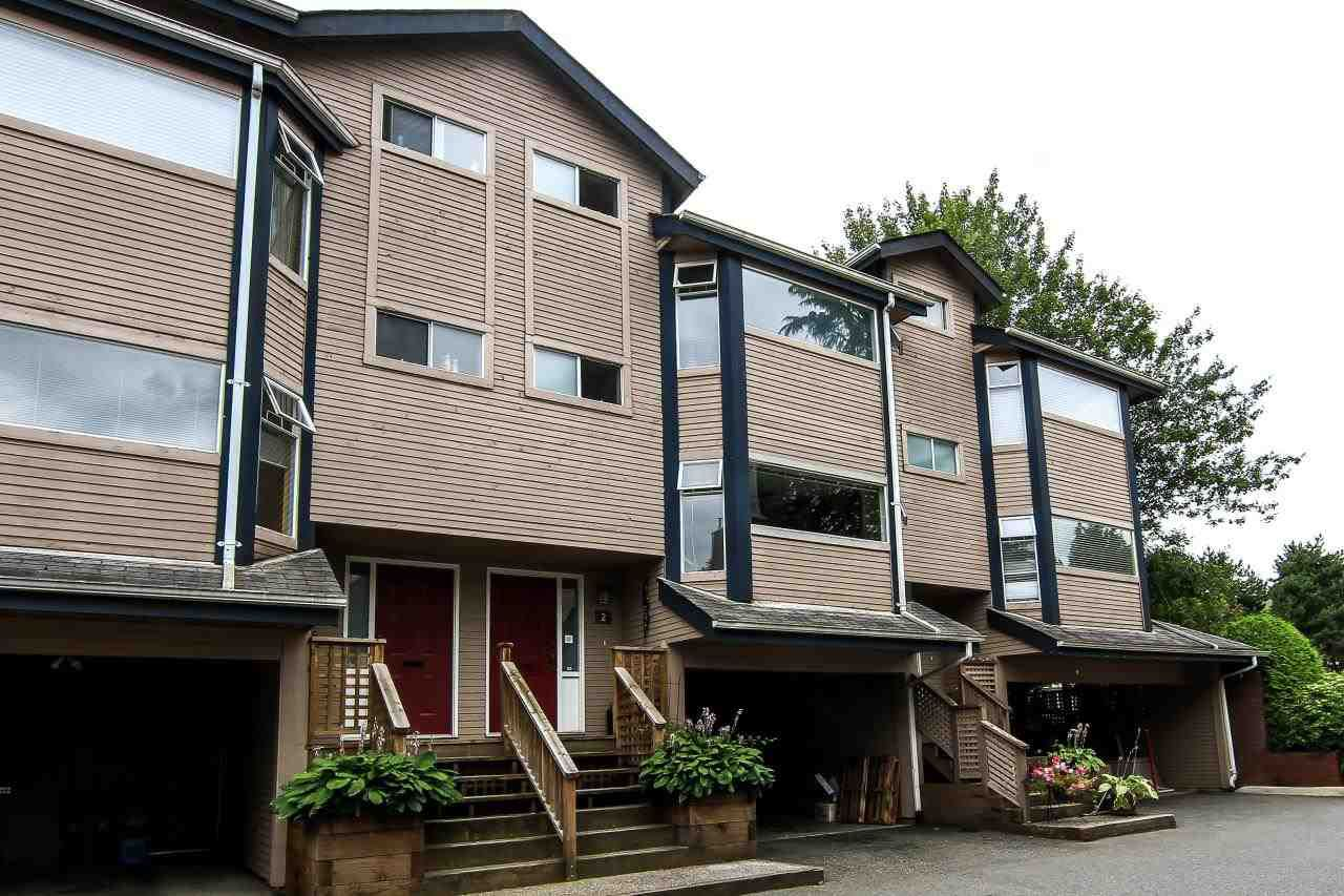 Main Photo: 2 1195 FALCON Drive in Coquitlam: Eagle Ridge CQ Townhouse for sale : MLS®# R2117993
