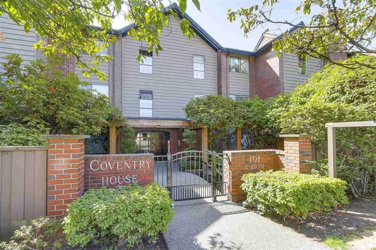 """Main Photo: 204 101 E 29TH Street in North Vancouver: Upper Lonsdale Condo for sale in """"COVENTRY HOUSE"""" : MLS®# R2199430"""