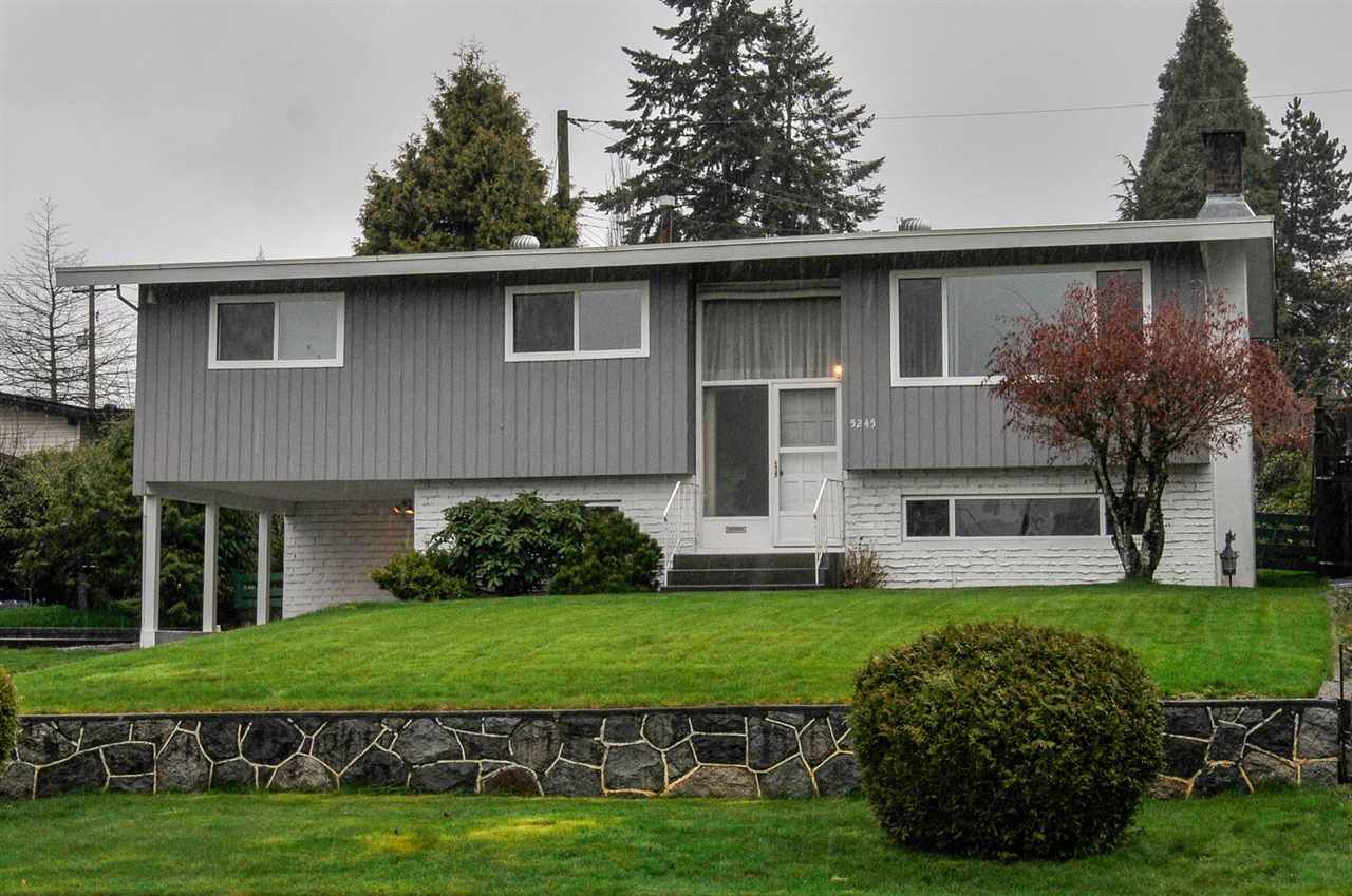 Main Photo: 5245 EGLINTON STREET in Burnaby: Deer Lake Place House for sale (Burnaby South)  : MLS®# R2257418