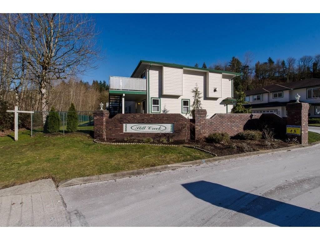 """Main Photo: 45 34250 HAZELWOOD Avenue in Abbotsford: Abbotsford East Townhouse for sale in """"STILL CREEK"""" : MLS®# R2258813"""