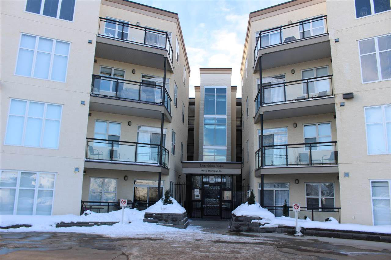 Main Photo: 407 9940 SHERRIDON Drive: Fort Saskatchewan Condo for sale : MLS®# E4131996